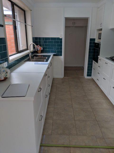 Watson - Kitchen Flooring Before W